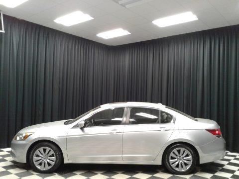 Alabaster Silver Metallic 2011 Honda Accord EX-L Sedan