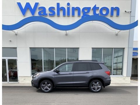 Modern Steel Metallic 2019 Honda Passport Touring AWD