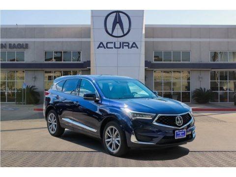 Fathom Blue Pearl 2019 Acura RDX Technology