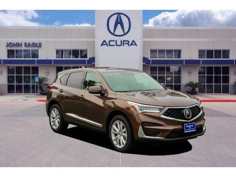 Canyon Bronze Metallic 2019 Acura RDX FWD