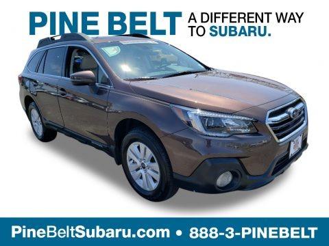 Cinnamon Brown Pearl 2019 Subaru Outback 2.5i Premium