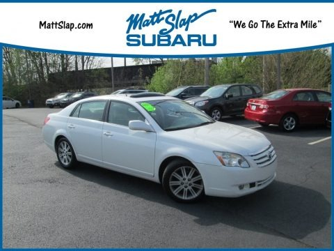 Blizzard White Pearl 2007 Toyota Avalon Limited