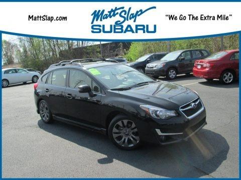 Dark Gray Metallic 2016 Subaru Impreza 2.0i Sport Limited