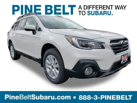 Crystal White Pearl 2019 Subaru Outback 2.5i Premium