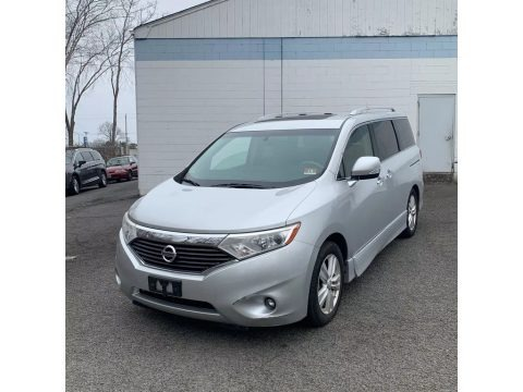 Brilliant Silver 2011 Nissan Quest 3.5 SL