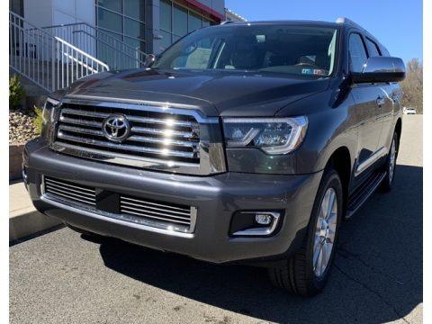 Magnetic Gray Metallic 2019 Toyota Sequoia Platinum 4x4