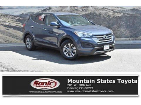 Marlin Blue 2014 Hyundai Santa Fe Sport AWD