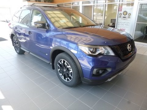 Caspian Blue Metallic 2019 Nissan Pathfinder SL 4x4