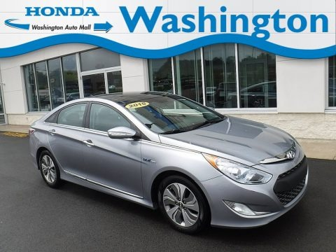 Pewter Gray Metallic 2015 Hyundai Sonata Hybrid Limited