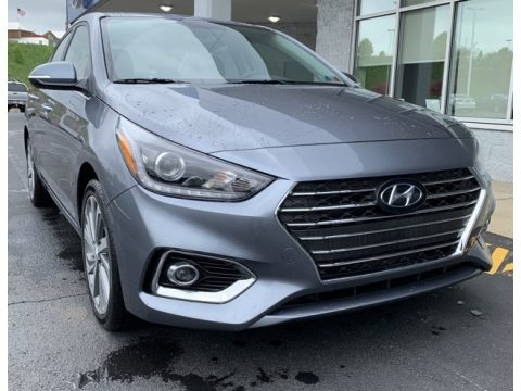 Urban Gray 2019 Hyundai Accent Limited