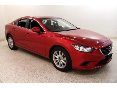 Soul Red Metallic 2017 Mazda Mazda6 Sport
