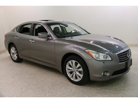 Platinum Graphite 2011 Infiniti M 37x AWD Sedan