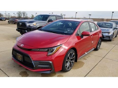 Barcelona Red Metallic 2020 Toyota Corolla XSE