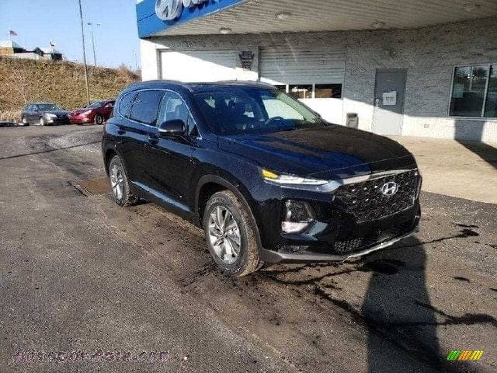 2019 Santa Fe Ultimate AWD - Twilight Black / Black photo #1