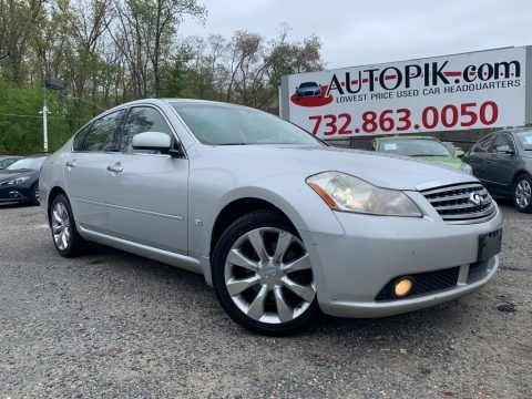 Liquid Platinum Metallic 2006 Infiniti M 35x Sedan