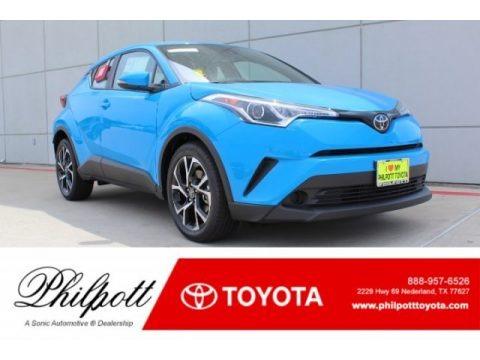 Blue Flame 2019 Toyota C-HR XLE
