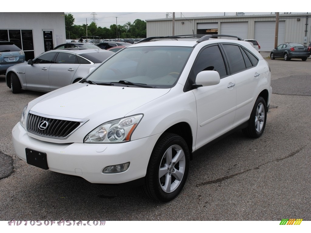 2008 RX 350 AWD - Crystal White / Ivory photo #1