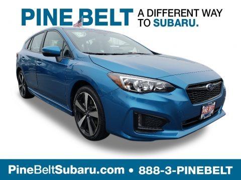 Island Blue Pearl 2019 Subaru Impreza 2.0i Sport 5-Door