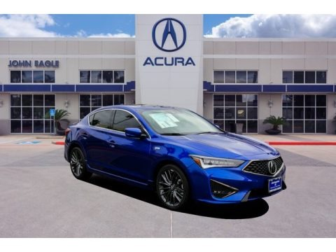 Apex Blue Pearl 2019 Acura ILX A-Spec