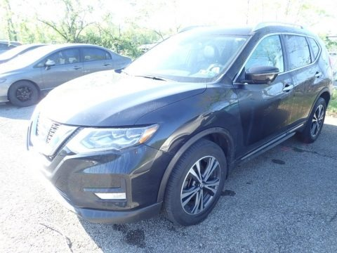 Magnetic Black 2017 Nissan Rogue SL AWD