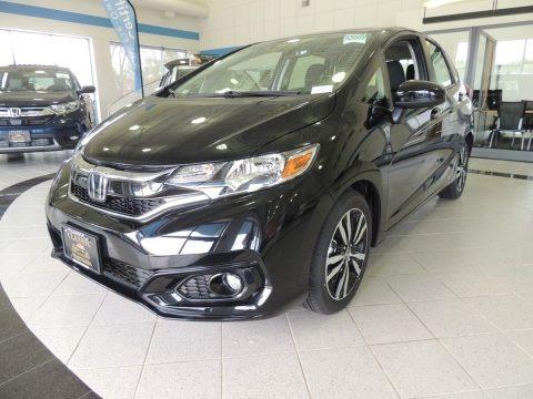 Crystal Black Pearl 2019 Honda Fit EX