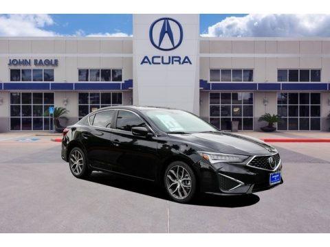 Majestic Black Pearl 2019 Acura ILX Premium