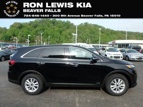 Ebony Black 2019 Kia Sorento LX AWD