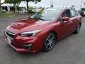 Subaru Impreza 2.0i Limited 5-Door Crimson Red Pearl photo #3