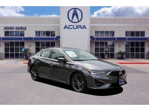 Modern Steel Metallic 2019 Acura ILX A-Spec
