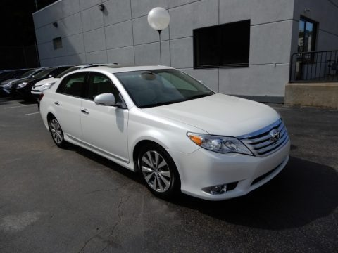 Blizzard White Pearl 2012 Toyota Avalon Limited