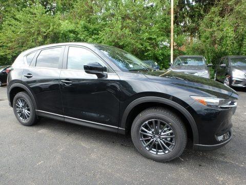 Jet Black Mica 2019 Mazda CX-5 Touring AWD