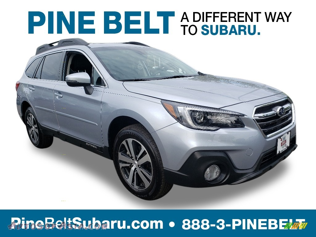 2019 Outback 2.5i Limited - Ice Silver Metallic / Slate Black photo #1