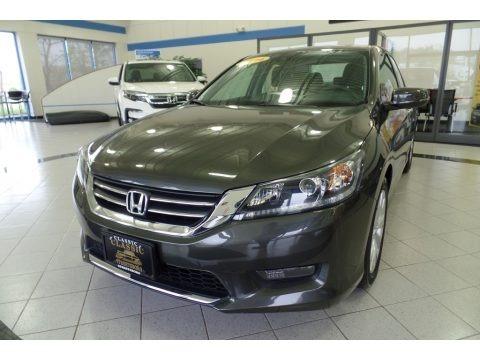 Hematite Metallic 2014 Honda Accord EX-L Sedan
