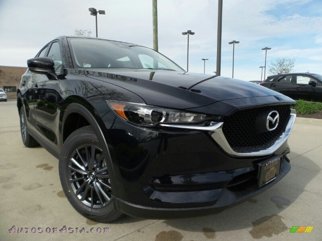 2019 CX-5 Sport AWD - Jet Black Mica / Black photo #1