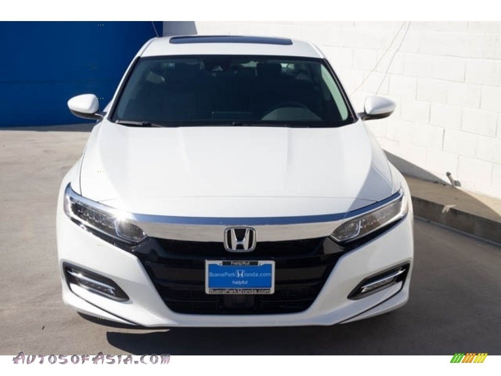 2019 Accord EX Hybrid Sedan - Platinum White Pearl / Black photo #3