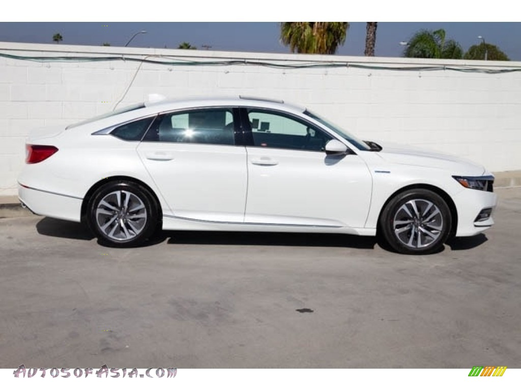 2019 Accord EX Hybrid Sedan - Platinum White Pearl / Black photo #5