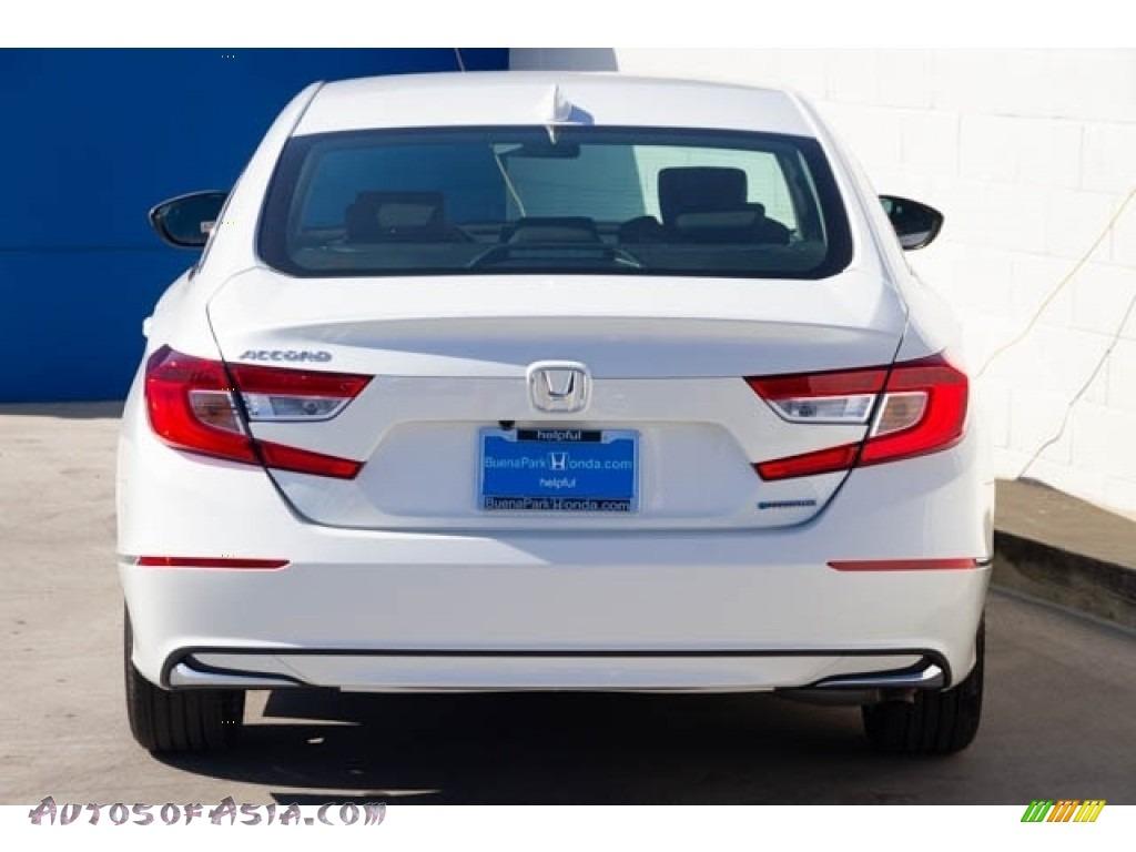2019 Accord EX Hybrid Sedan - Platinum White Pearl / Black photo #6