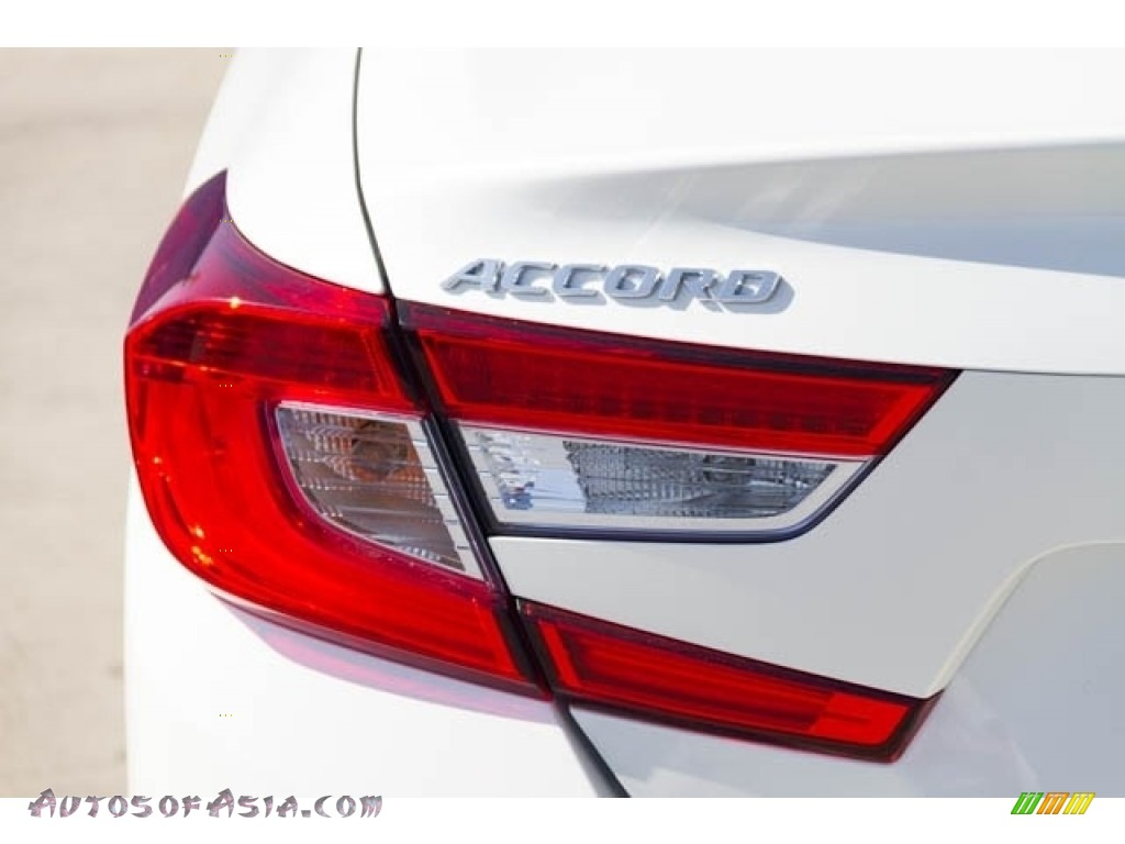 2019 Accord EX Hybrid Sedan - Platinum White Pearl / Black photo #7