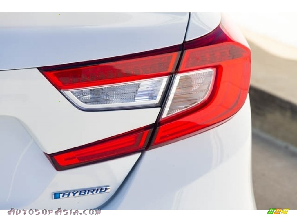 2019 Accord EX Hybrid Sedan - Platinum White Pearl / Black photo #8