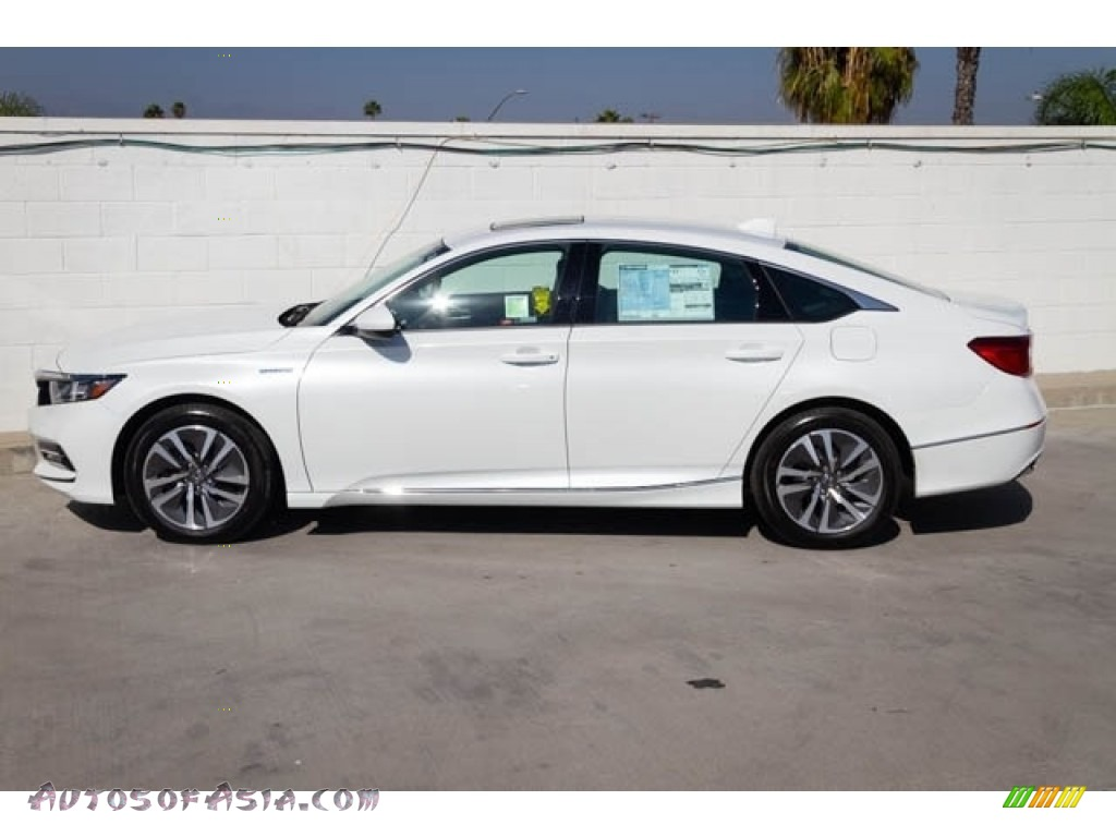2019 Accord EX Hybrid Sedan - Platinum White Pearl / Black photo #9
