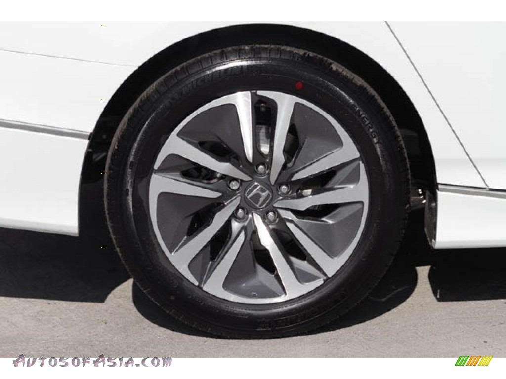 2019 Accord EX Hybrid Sedan - Platinum White Pearl / Black photo #11