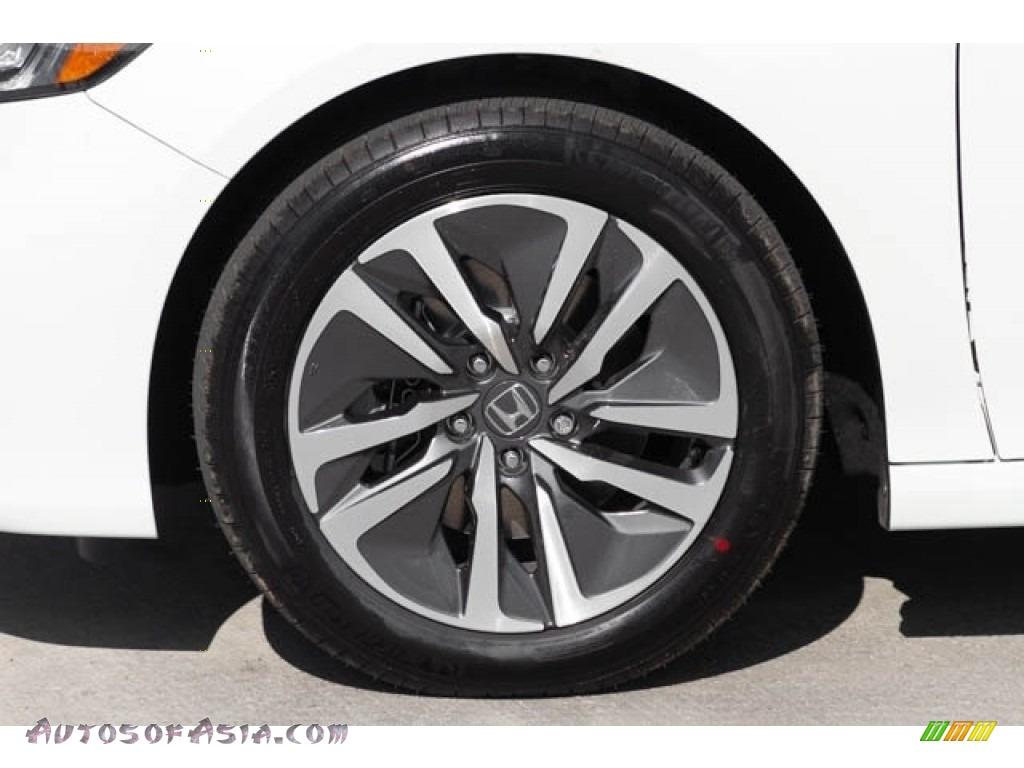 2019 Accord EX Hybrid Sedan - Platinum White Pearl / Black photo #13