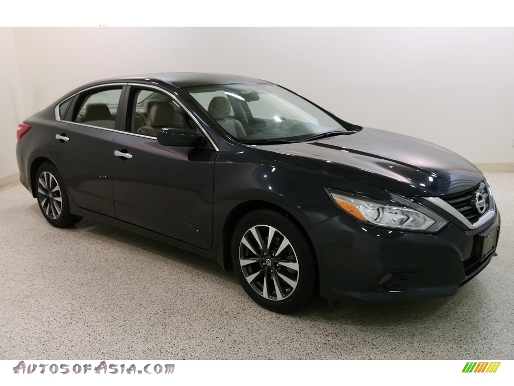 2016 Altima 2.5 SV - Storm Blue / Beige photo #1
