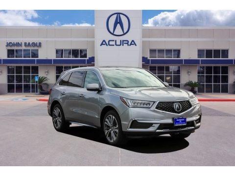 Lunar Silver Metallic 2019 Acura MDX Technology