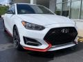 Hyundai Veloster N Chalk White photo #1
