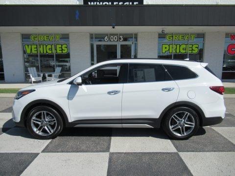 Monaco White 2019 Hyundai Santa Fe XL Limited Ultimate