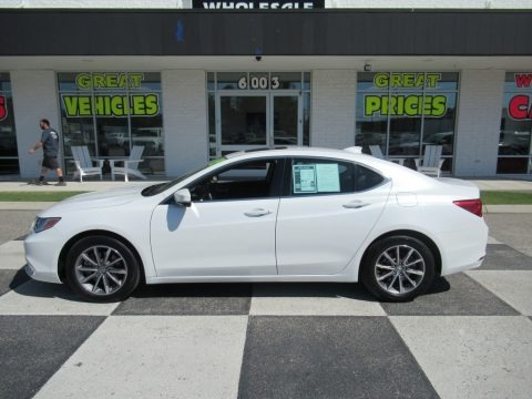 Platinum White Pearl 2019 Acura TLX Sedan
