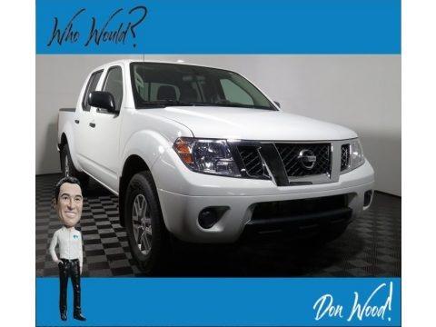Glacier White 2018 Nissan Frontier SV Crew Cab 4x4
