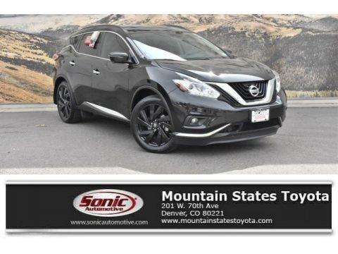 Magnetic Black 2017 Nissan Murano Platinum AWD