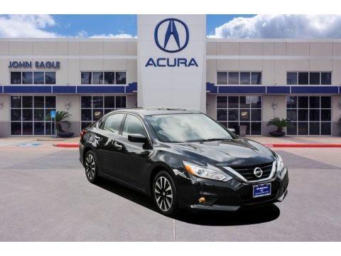 Gun Metallic 2018 Nissan Altima 2.5 SV